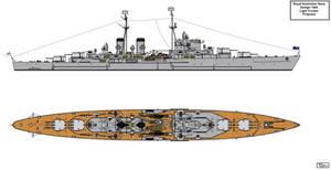 Royal Australian Navy 1944 Design Light Cruiser