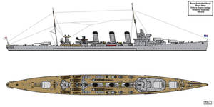 Vickers Export Design 1074X for Australia