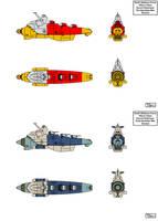 EDF Escort Destroyer by Tzoli
