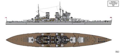 Lion Class Preliminary Design 14A-37 by Tzoli