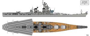 Iowa Phase II Battlecarrier Conversion