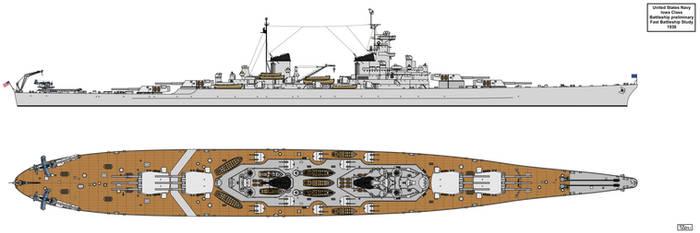 Fast Battleship Design 8in