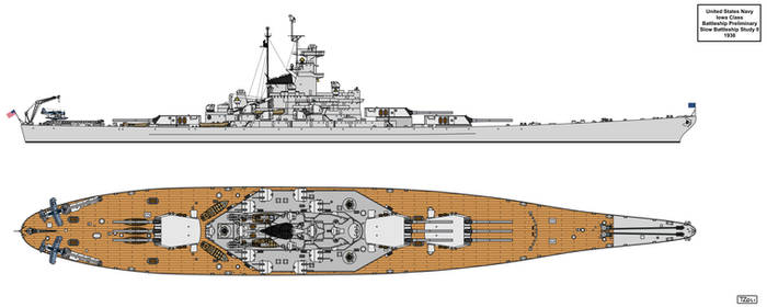Slow Battleship Study II