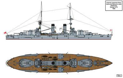 Design A-16 Battleship