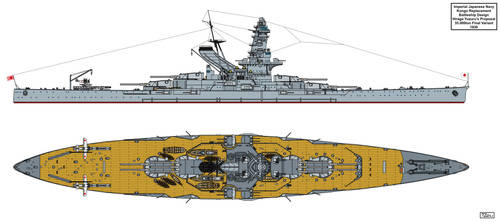 Final Kongo Replacement 35K Design X