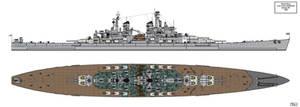 Lion Class Battleship Design 1945 B1