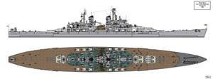 Lion Class Battleship Design 1945 B2