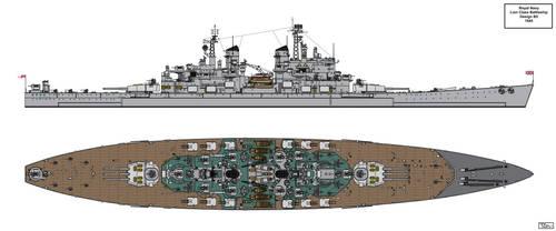 Lion Class Battleship Design 1945 B5