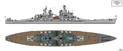Lion Class Battleship Design 1945 B7