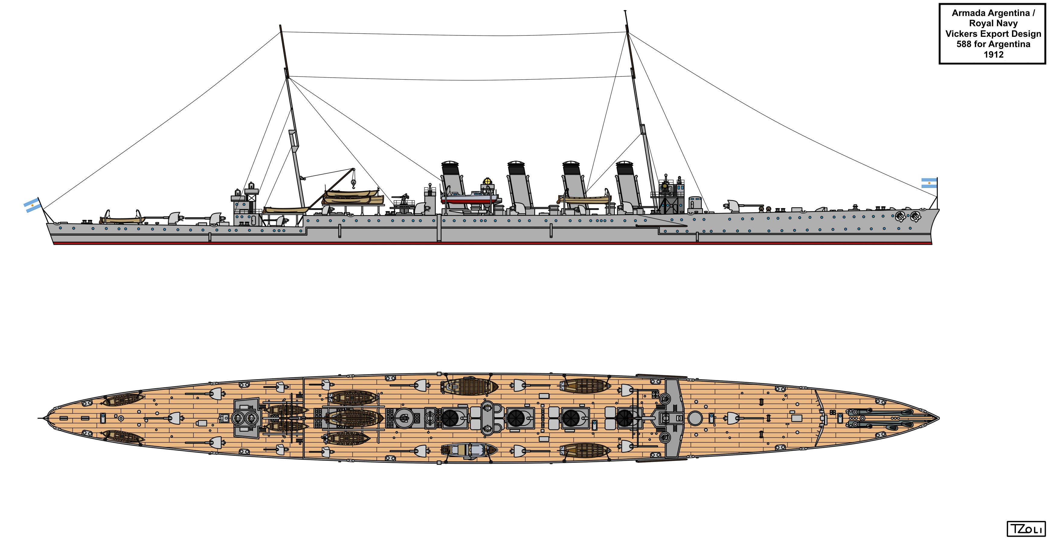 Vickers Design 588