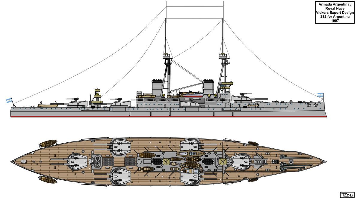 Vickers Design 282