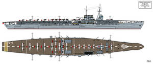 Amagi Aircraft Carrier Preliminary Design 2