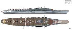 Amagi Aircraft Carrier Preliminary Design 4