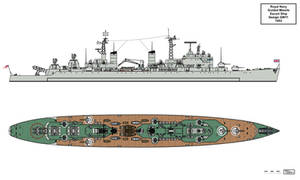 Royal Navy GW11 Convoy Escort Design