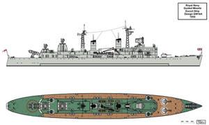 Royal Navy GW14A Convoy Escort Design