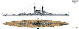 IJN Battleship Design A-119 Modified
