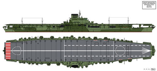 IJN Shinano Carrier as Sunk