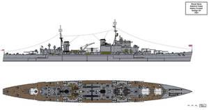 Admiral Class Heavy Cruiser Design XY