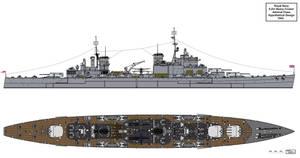 Hypothetical RN Heavy Cruiser