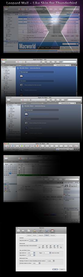 Mac OS X Leopard Mail 3.2.6