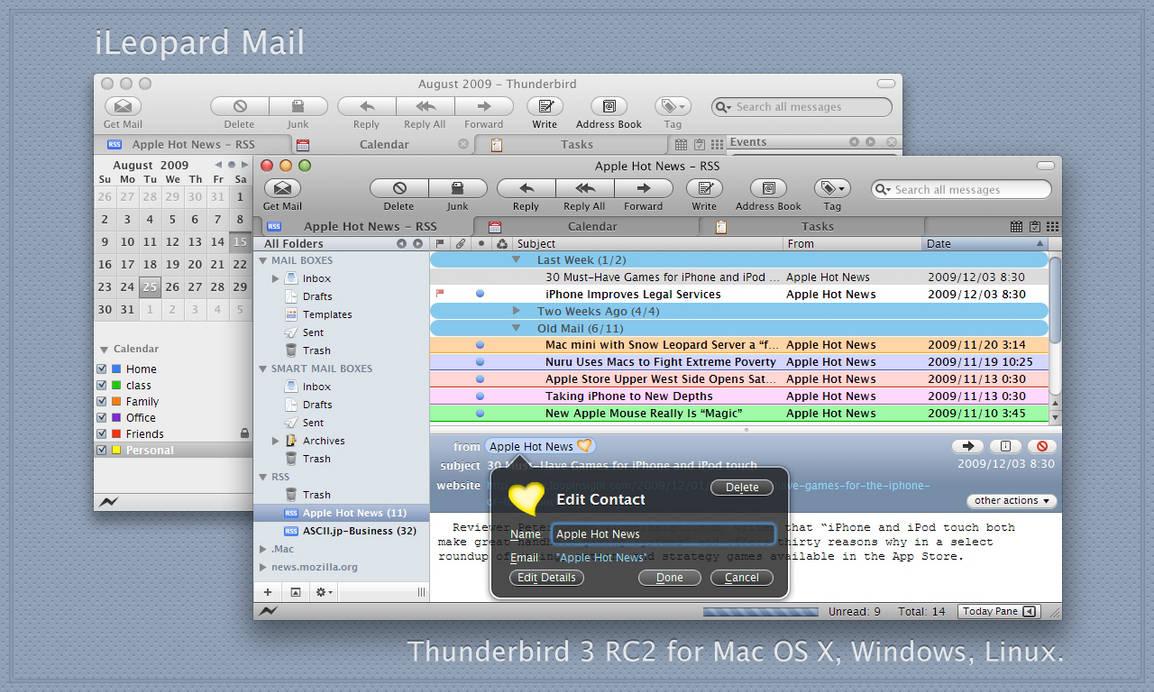 iLeopard Mail 3.2.6