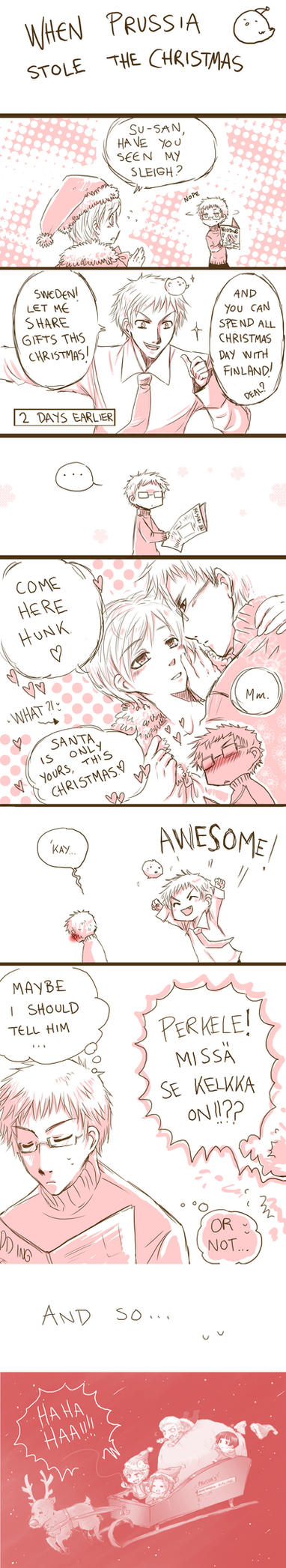 Prussia stole the Christmas by Sadyna