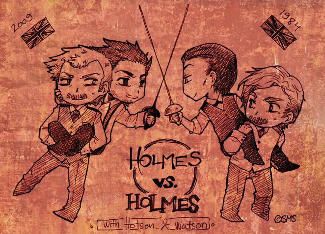 Holmes VS. Holmes by Sadyna