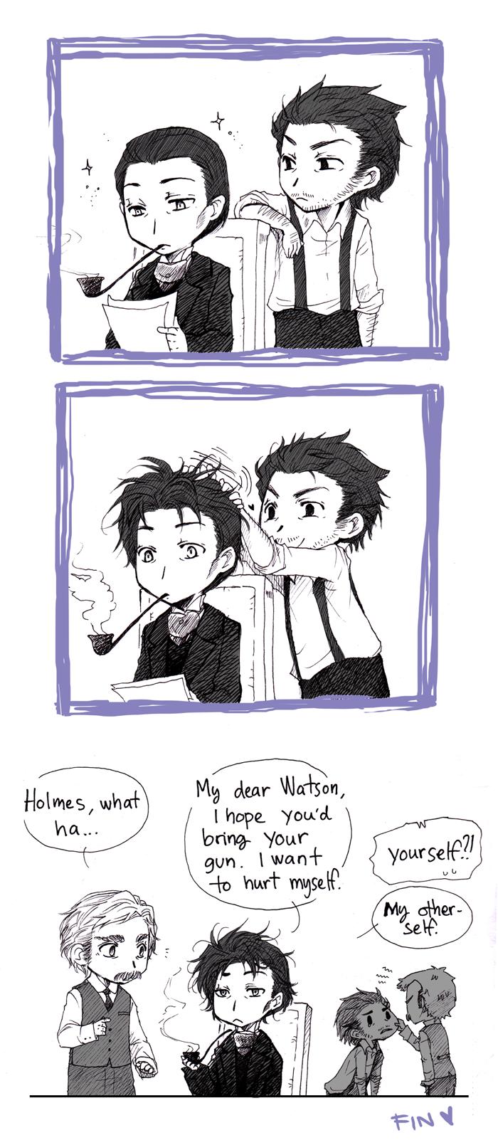 Holmes' bad hair day