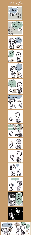 Holmes VS. Holmes pr3 by Sadyna