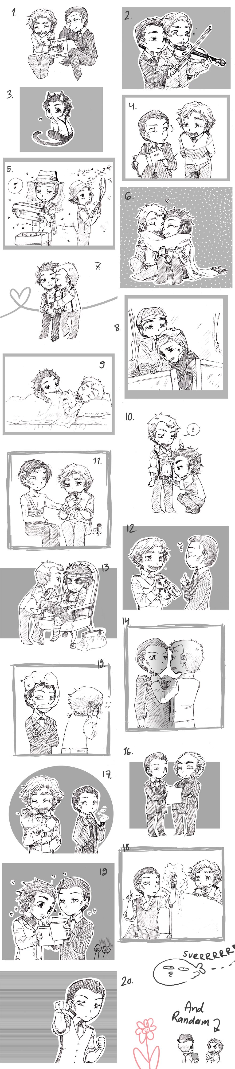20 Holmes sketch by Sadyna
