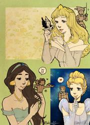 Princesses and Princes part 2 by Sadyna