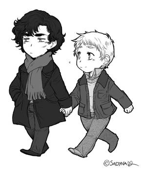 SH - Holding hands