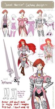 Silent Warrior Costume design