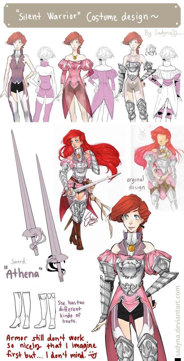 Silent Warrior Costume design by Sadyna