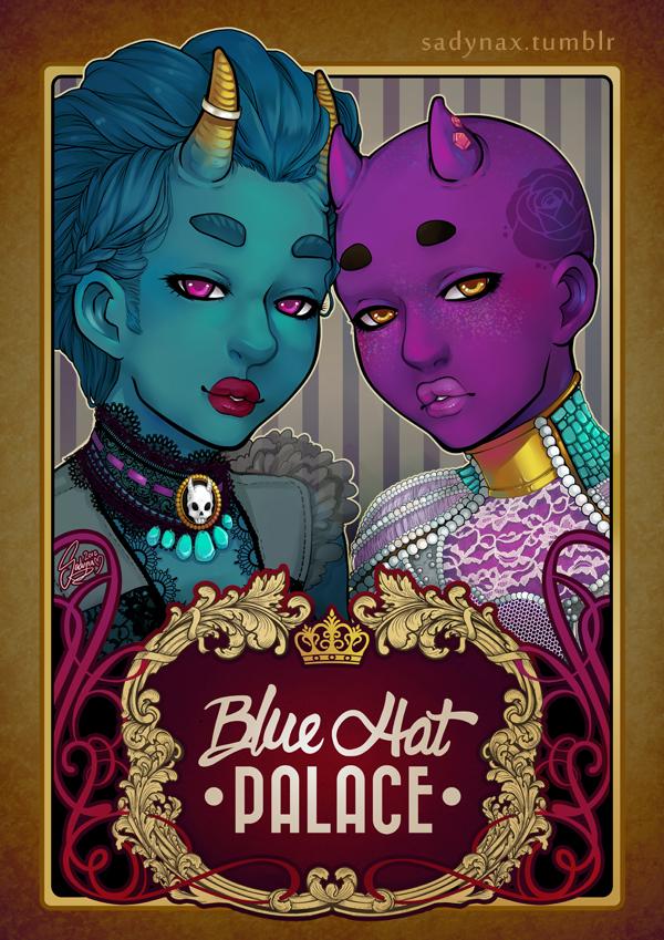 Blue Hat Palace by Sadyna