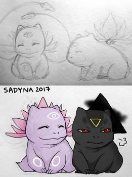 psysaur and darksaur