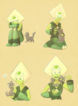 Peridot + Kitty