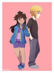 C: Got his jacket