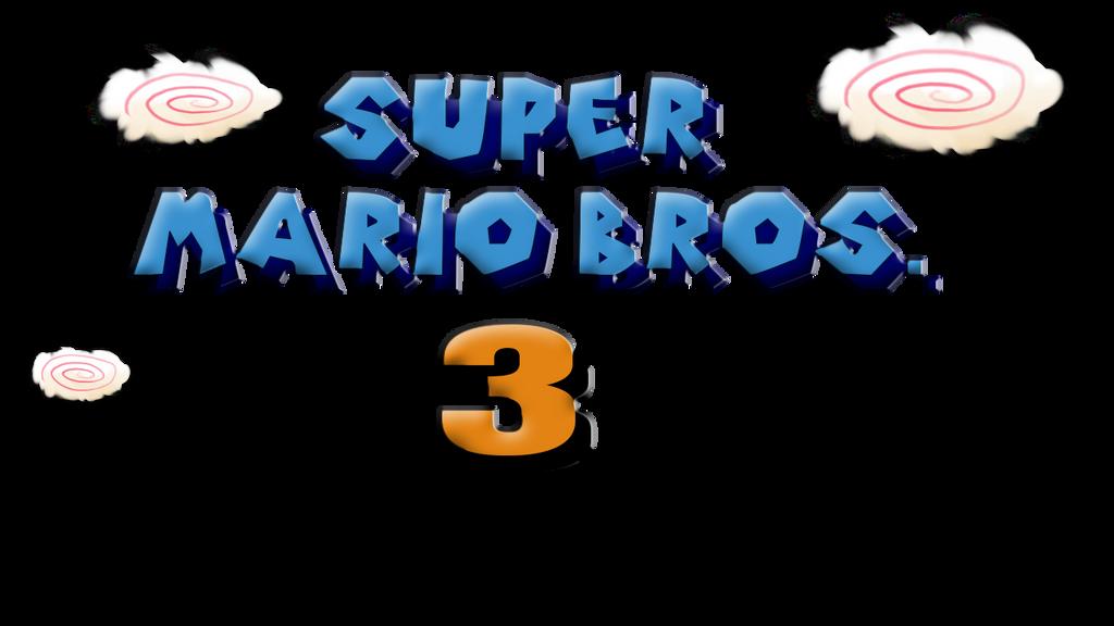 Super Mario Bros 3 Logo Revamped By Sblakegamesofficial On Deviantart
