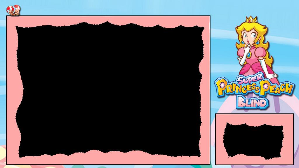 Super Princess Peach: BLIND Layout