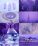 lavender aesthetic board