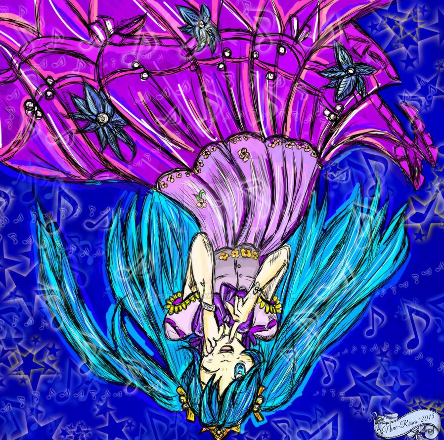 Princess Miku by Nine-Roses