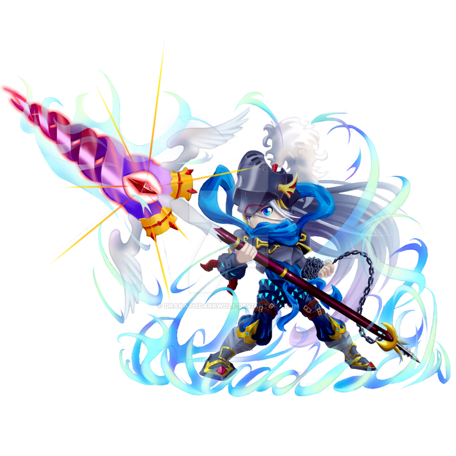 Brave Frontier Character Design Contest : Taka brave frontier unit art contest by