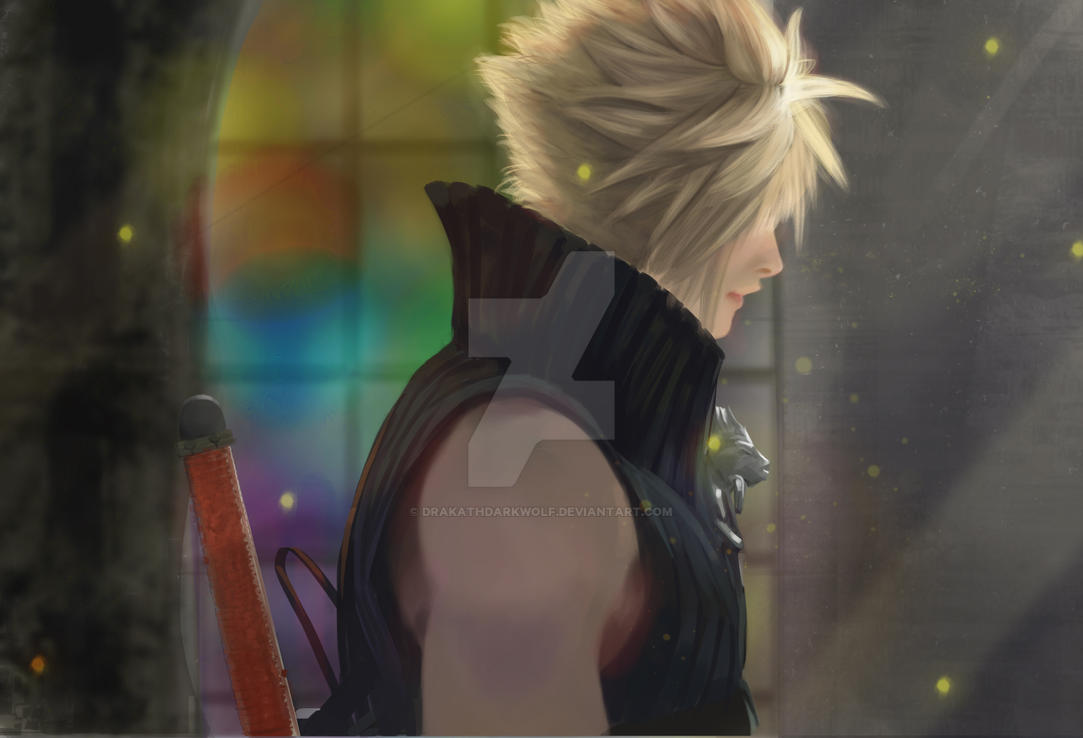 Cloud Strife by DrakathDarkwolf