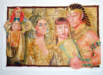 Egypt Colour by BhattiGal