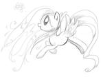 Fluttershy Sketch 1