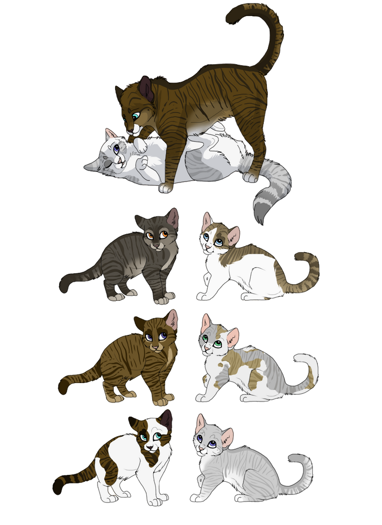 Warrior Cats Hawkfrost And Mramble Claw The Exit