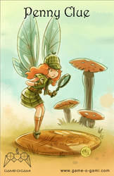 Goblins Drool, Fairies Rule! - Penny Clue by gameogami