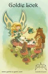 Goblins Drool, Fairies Rule - Goldie Lock by gameogami