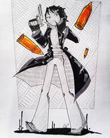 [Art Trade] What? by Enji369